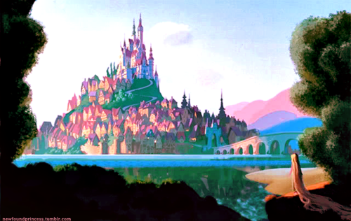 "thedisnerd:  + Tangled (2010) concept artwork by Douglas Rogers ""What if it's not everything I dreamed it would be?"""