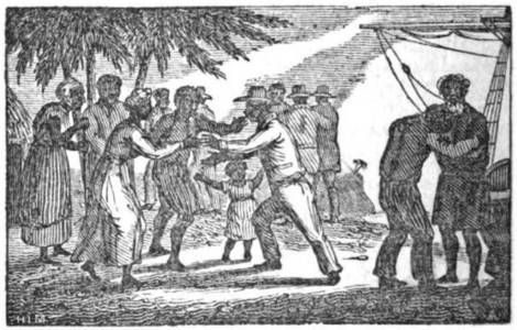 "fyeahafrica:  [Picture: An 1835 illustration of liberated slaves arriving in Sierra Leone.] Saros or Creoles in Nigeria during the nineteenth century and early twentieth century were freed slaves who migrated to Nigeria in the beginning of the 1830s. They were known locally as Saros (elided form of Sierra Leone) or Amaros: migrants from Brazil and Cuba. Saros and Amaros also settled in other West African countries such as the Gold Coast (Ghana). They were mostly freed and repatriated slaves from various West African and Latin American countries such as Sierra Leone, Brazil and Cuba Liberated ""returnee"" Africans from Brazil were more commonly known as ""Agudas"". Most of the Latin American returnees or Amaros started migrating to Africa after slavery was abolished on the continent while others from West Africa, or the Saros were recaptured and freed slaves already resident in Sierra Leone. Many of the returnees chose to return to Nigeria for cultural, missionary and economic reasons. Many (if not the greater majority) of them were originally descended from the Yoruba people, and so because of this, they were mostly regarded as a part of the ethnic group that the Yoruba constituted in the Nigeria of the era. The newly arrived immigrants resided in the Niger Delta, Lagos Colony and in some Eastern Nigerian cities such as Aba, Owerri, and Onitsha. Though, many were originally dedicated Anglophiles in Nigeria, they later adopted an indigenous and patriotic attitude on Nigerian affairs due to a rise in discrimination in the 1880s, and were later known as cultural nationalists. [Read More/Source]"
