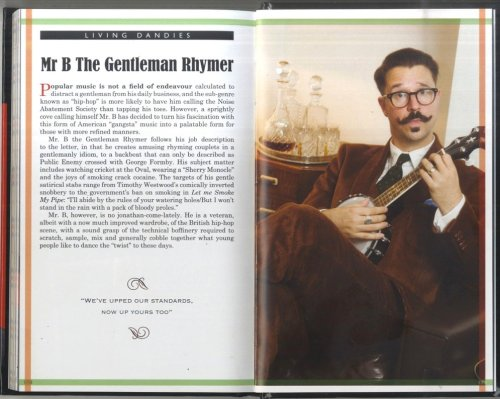 showmethelighter:  Mr B. The Gentleman Rhymer – he was the one that got away!  I've seen this guy twice at Tapestry events – he does hip-hop, sorry, chap-hop tracks on a ukulele.  He was performing a full hour long show in Edinburgh at the Voodoo Rooms, but I didn't manage to see it … so tantalising!