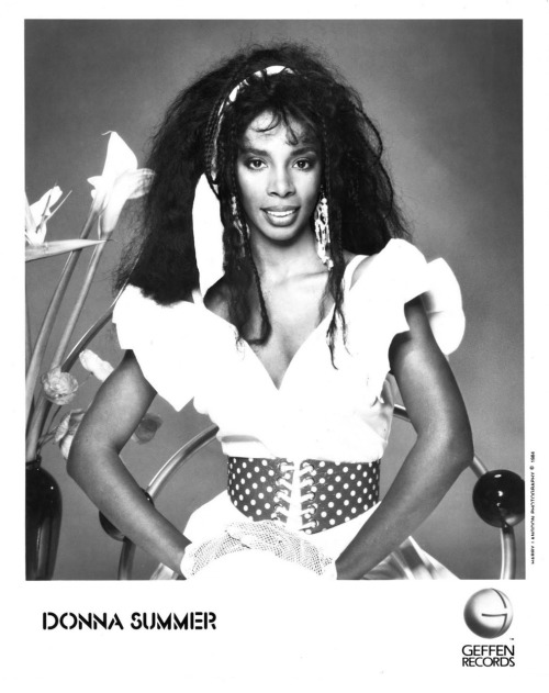 80srecordparty:  Donna Summer Press PhotoGeffen Records/USA (1984)