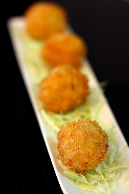 Crab Cream Croquette カニクリームコロッケ by mila0506 on Flickr.