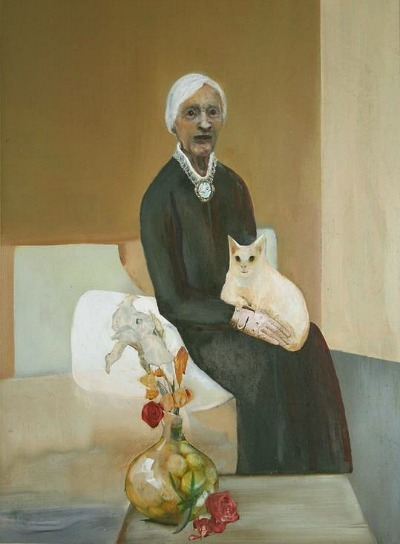 Jack Donavan Old Lady with a Cat 2006