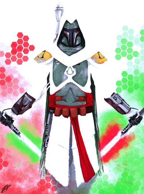 assorted-goodness:  Fett's Creed // by Izene.