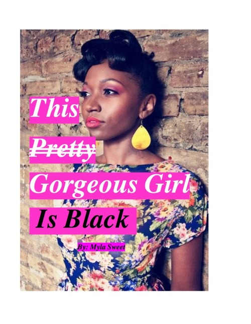 "thisgorgeousgirl:  THE NATURAL HAIR MODEL ON MY EBOOK COVER Isn't she fabulous? Well, if you're interested in using her, Tasha Nesha,? for a shoot, you can email her at tasha.nesha@gmail.com. Don't forget my first e-book ""This Pretty Gorgeous Girl Is Black"" will be ready for sell now! LIKE my facebook page, if you would like a sneak peak of the book and extra beauty tips not on my blog! http://www.facebook.com/pages/Gorgeous-Girls/205049366205477 REBLOG if you're GORGEOUS!"