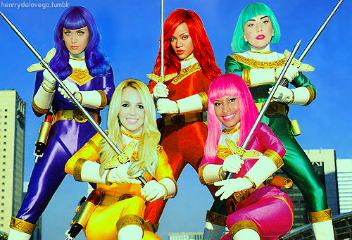 k3llyb3an:  brennerdee:   Pop Power Rangers  Nope, every time.  I'd watch it.