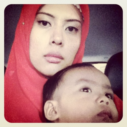With my #son #mother #sgraya2011  (Taken with instagram)