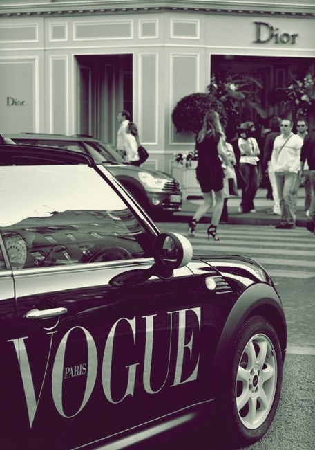 Who doesn't want a  Vogue Paris Cooper?!