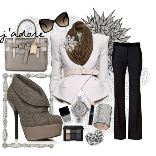 Calm Like a Bomb by cottoncandysugarrush featuring grey booties