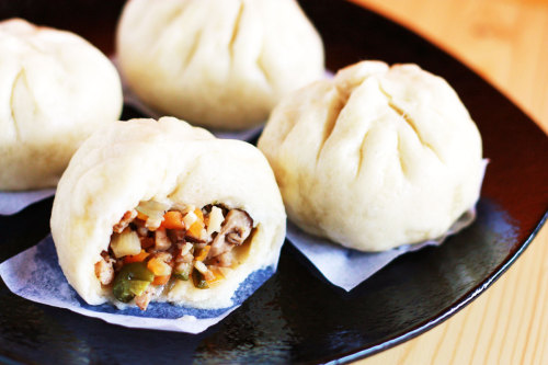 asiancuisines:  Pork Bun
