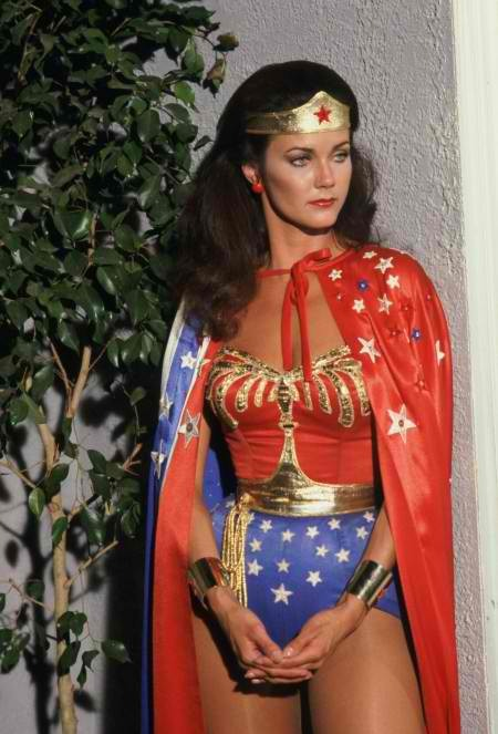 TOP 10 FAVOURITE FEMALE TV CHARACTERS: 5. WONDER WOMAN's Princess Diana/Wonder Woman (Lynda Carter)