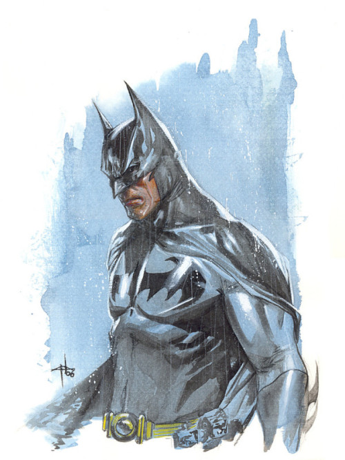 xombiedirge:  Batman by Gabriele Dell'Otto