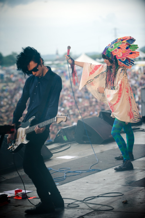 Nick Zinner and Karen O