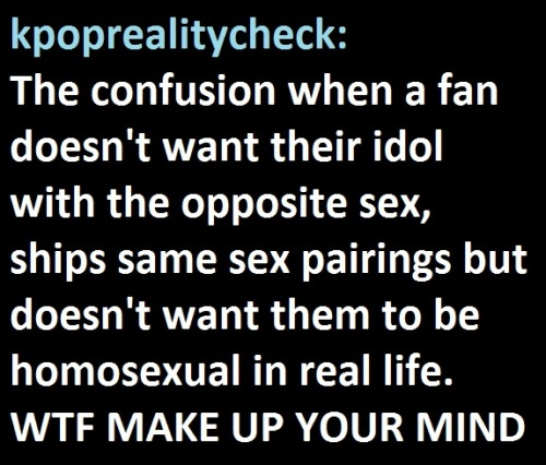 just-procrastinating:  Some fans can be so hypocritical  damn straight haha ;A;