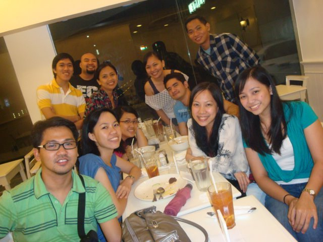 donski15:  Block5heep dinner :)  Happy times! ;)