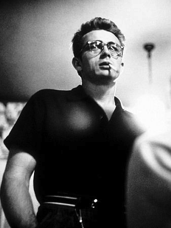 James Dean photographed by Sid Avery, 1955.