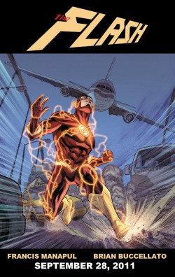 Flash #1 teaser by Francis Manapul