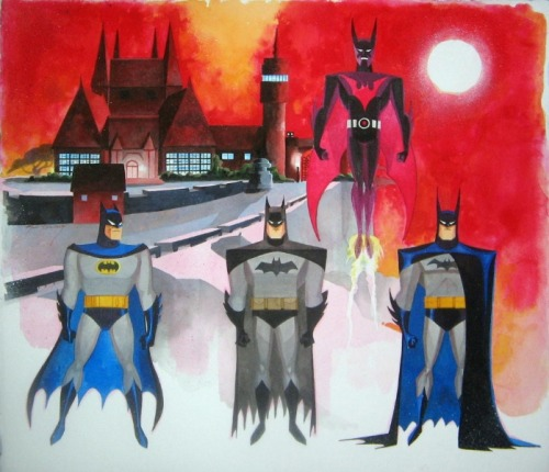 jesic:  Batmen, by Mark McHaley
