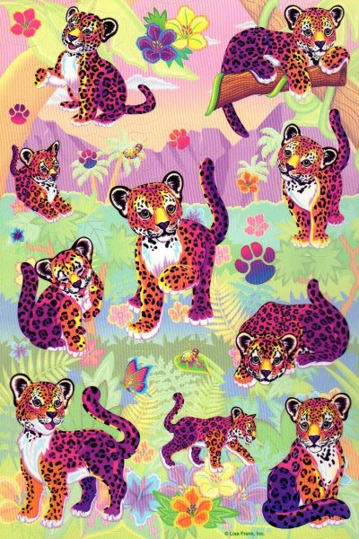 lisa frank was my shit