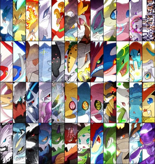pkmnblg:  All Legendary Pokemon!! They look great! Wait Missingo is legendary?