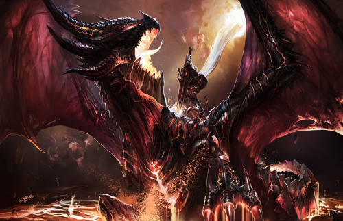 ohyeahworldofwarcraft:  Kill Deathwing - chenbo - 8/17/11 Soon, you son of a bitch.
