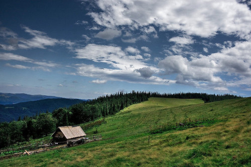 agoodthinghappened:  Carpathian mountains by іgor on Flickr.