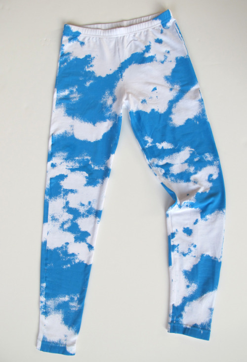 prettysnake:  JAS cloud leggings now available for order!!!!! http://www.etsy.com/listing/81124823/cloud-leggings www.josephaaronsegal.com  Omg get your labor day looks now!!!! Hot off our runway!