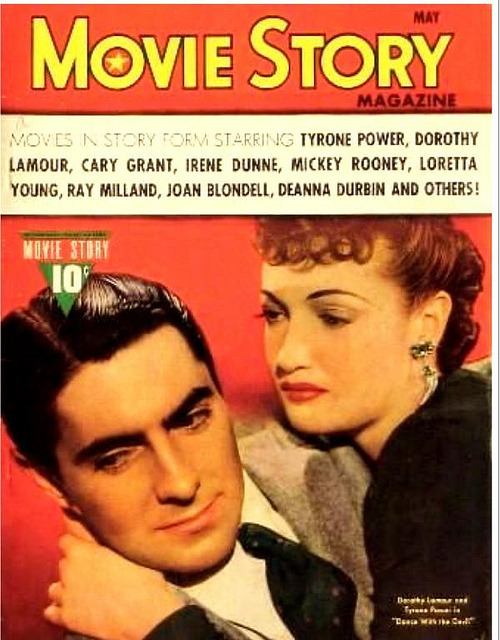 Tyrone Power and Dorothy Lamour