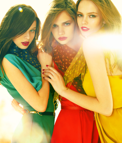 Katya, Sharon & Mina BCBGeneration Fall 2011 Campaign