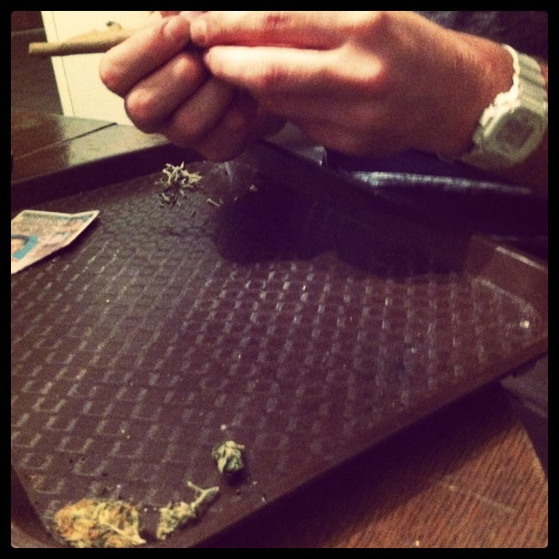 #blunt #rolling #weed #420 #bluntime (Taken with instagram)