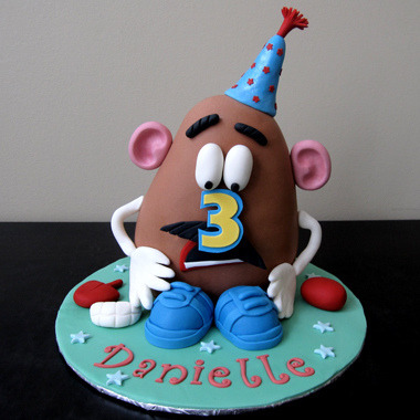 Mr Potato Head (by J's Sweets)