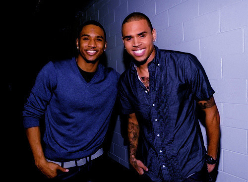patriciaheng:  Trey Songz & Chris Brown ;*