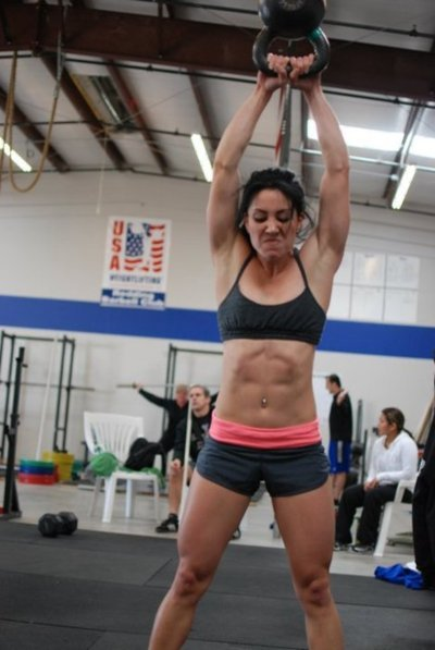 strengthfromstruggle:  I love a woman's workout face especially when she's really putting it down!
