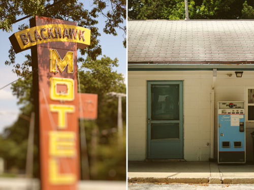 davidtribby:  Blackhawk Motel - Michigan City, IN