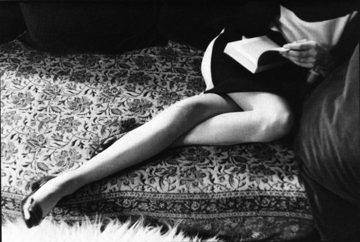 Martine's Legs (1967). Henri Cartier-Bresson. (via)