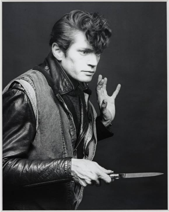 Self Portrait (1983). Robert Mapplethorpe.  (via)
