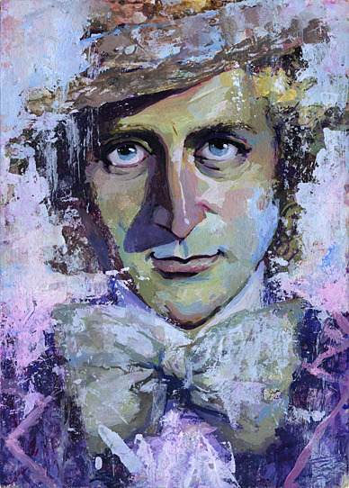Amazing art of Willy Wonka
