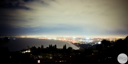 kingstonphoto:  The West Coast. You can see from Redondo Beach all the way to Santa Monica.