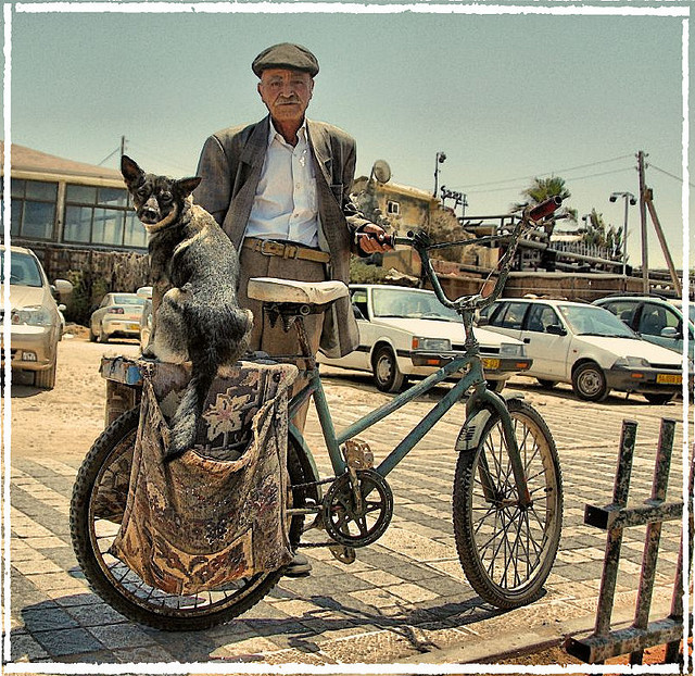 The old man and his dog by arutha on Flickr.