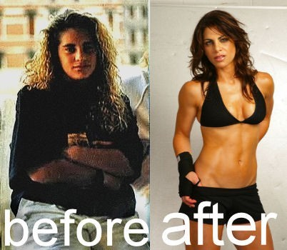 Jillian freakin Michaels was there too. Look at her now!
