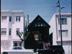 "crystal-c-a-t-s:  lilacdaisy:   The Black House is a building that formerly stood at 6114 California St. in San Francisco, California, in the United States. The house was used by Anton LaVey as the headquarters of his Church of Satan from 1966 until his death in 1997. LaVey conducted Satanic seminars and rituals at the house; one of the most notorious such rituals was the Satanic baptism of his daughter Zeena Schreck in 1967, punctuated by LaVey speaking the words ""Hail Satan!"" over the nude body of a female acting as the 'Satanic Altar'.  creepy…..  creepy but so interesting"