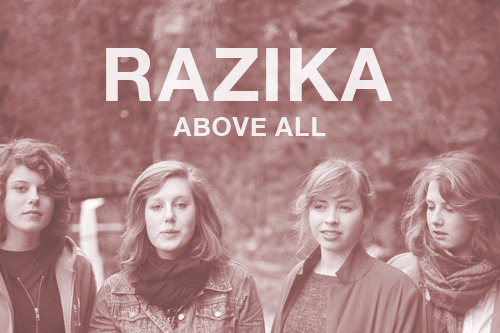 Razika, four fresh 19 year old chicks from Norway. Caught me with this song, Above All. Off their new album Program 91 under Smalltown Supersound label. Click Here to buy Program 91