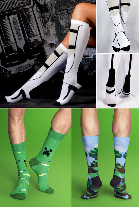 nnn:  gamer sox  I..I.. Mine craft socks.. C..creeper. .I want them…