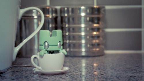 I Love Tea by ~Kuukun Lunartik's 'I <3 Tea' blindbox figurines :)