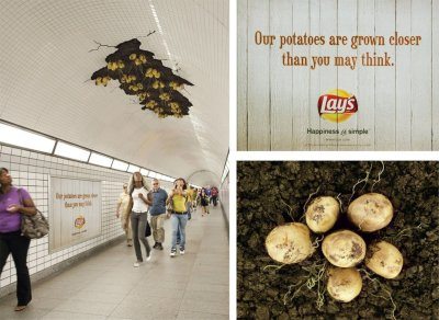 Lay's awesome ad campaign. For more creative ads and campaigns, check the ADS category of my blog.