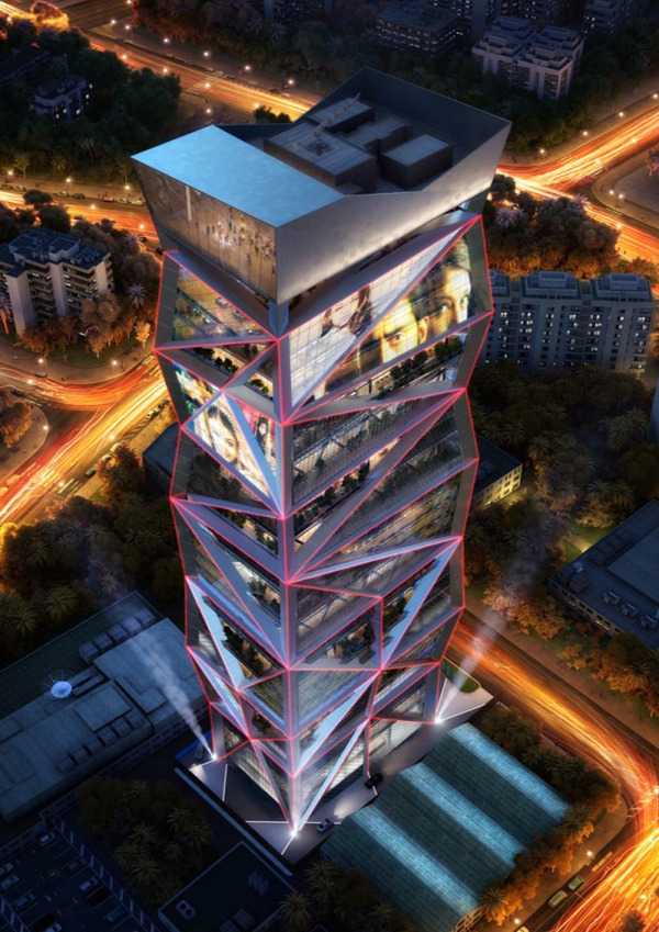 cjwho:  Parinee Tower is a new landmark for Mumbai / James Law Cybertecture