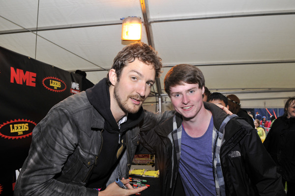 sammckay:  Frank Turner and I. Be jealous of my life.   I love Frank.