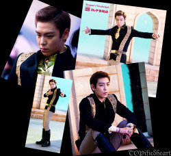 topphilippines:  It's Prince T.O.P. in the palace. You may now resume your worship.