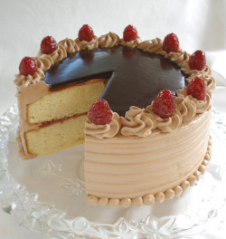 simasays:  Raspberry Nutella Bliss Cake