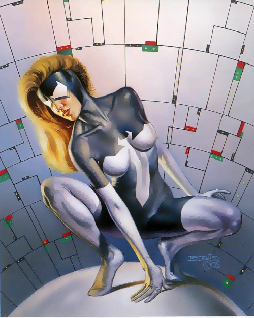Spider-Woman II/Arachne by Boris Vallejo
