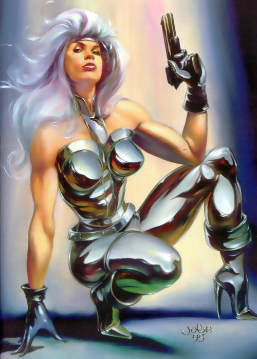 Silver Sable by Julie Bell